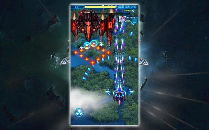 Galaxy Zero ist ein modernes Mobile-Spiel, das im Kern jedoch wie ein klassisches Weltraumballerspiel daherkommt.