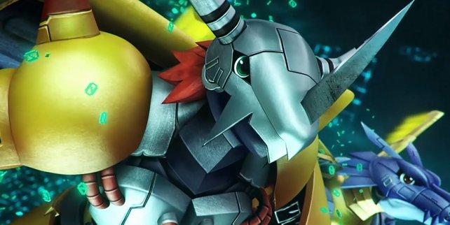 WarGreymon und MetalGarurumon sind die beliebten Mega-Digimon, die ihr mit Sicherheit aus der Anime-Serie kennt.