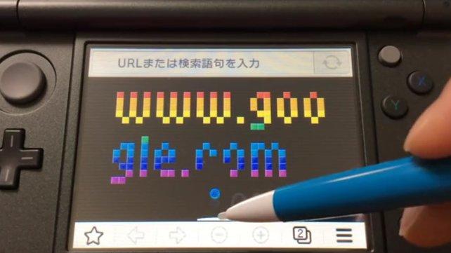 Ein kurzes Spielchen gefällig? Der Browser im japanischen New 3DS macht's möglich!