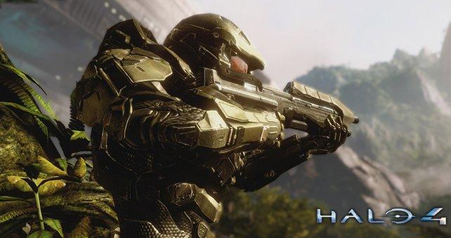 Auch Halo 4 profitiert von der Auflösung in 1080p mixt 60 Bildern pro Sekunde.