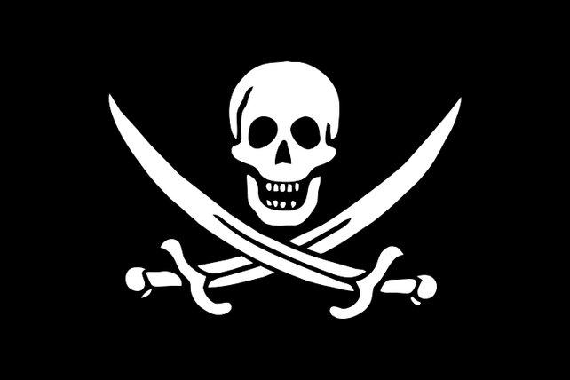 Die klassische Piratenflagge soll Reckhams Erfindung sein.