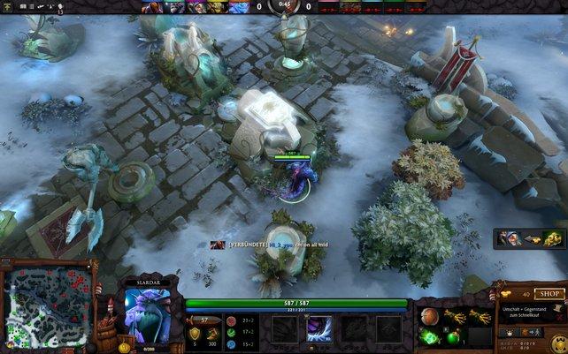 Dota 2 gehört mit League of Legends zu den populärsten eSport-Spielen.