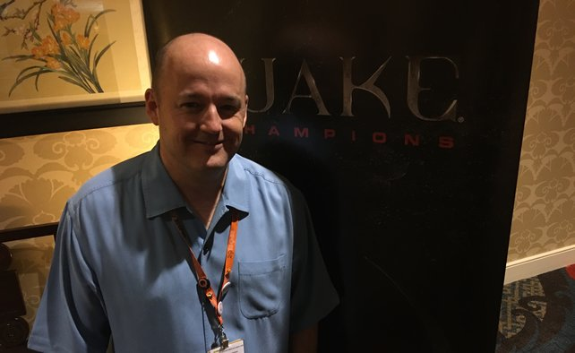 Tim Willits, der Kopf hinter Quake Champions.