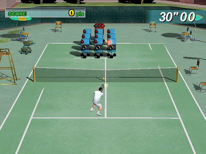 """Ein schwieriges Training erwartet euch bei """"Virtua Tennis"""" von 2001."""