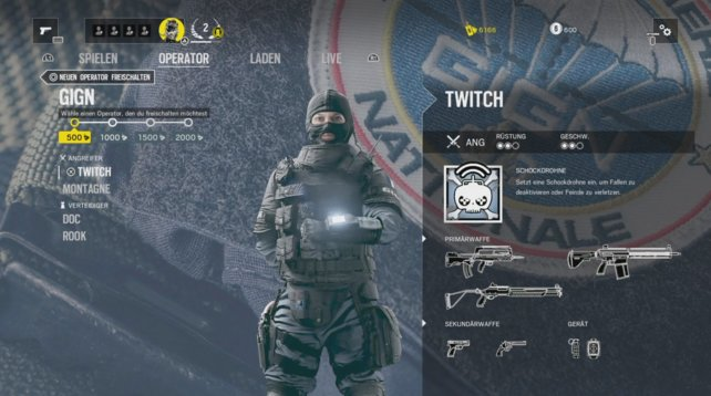 Operator Twitch