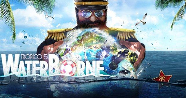 El Presidente kommt nicht zur Ruhe. Schon gar nicht in Tropico 5 - Waterborne.