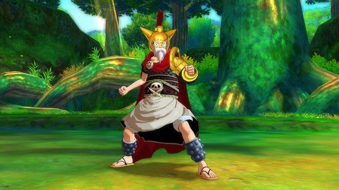 Im neuen Gladiatoren-Zusatzinhalt für One Piece - Unlimited World Red gibt es neue Kostümierungen für Ruffy.