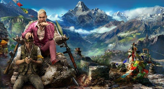 Pagan Min riss vor einige Jahren die Macht in Kyrat an sich und springt seitdem mit der Bevölkerung um, wie es ihm beliebt.