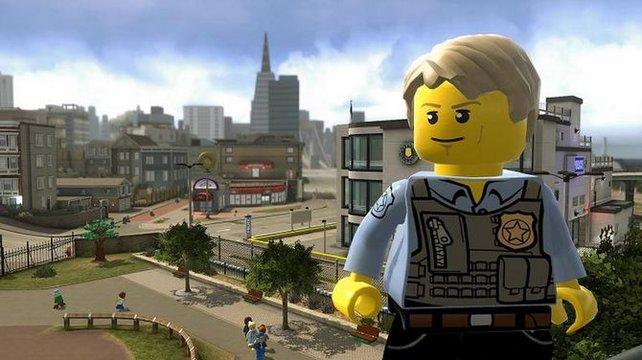 Lego City zu Fuß zu umrunden dauert gut und gerne eine Stunde.