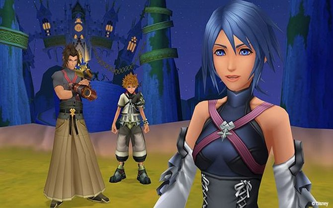 "Hier seht ihr Terra, Ventus und Aqua aus ""Kingdom Hearts - Birth by Sleep""."