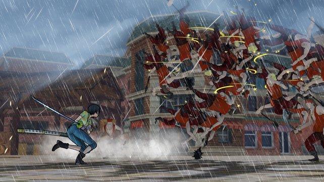 Mit fantastischen Spezial-Attacken werden die Gegner hinweggefegt.