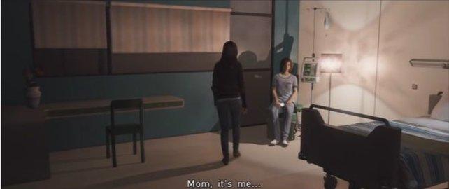 Jodies Mom ist kaum noch ansprechbar.