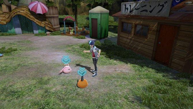 In Digimon World - Next Order werdet ihr beständig von zwei Digimon begleitet. Erst in ihrer Anfangsstufe ...