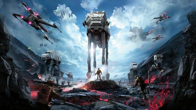 Das Spiel liefert eine authentische Star Wars-Atmosphäre.