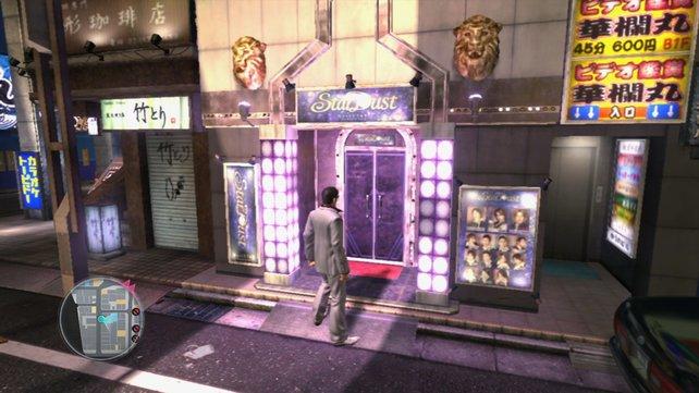 Du kommst hier nicht rein! Hostessen-Bars sind in Teil 3 für westliche Spieler geschlossen.