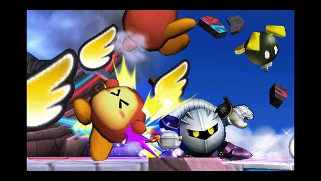 Besiegt jeden Gegner im Smash-Run, um wertvolle Verstärker zu erhalten.