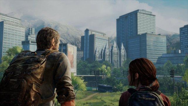 Joel und Ellie blicken in eine ungewisse Zukunft.