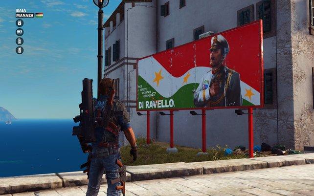 Überall Propaganda: Zerstört alle Tafeln und beendet die Herrschaft von Di Ravello.
