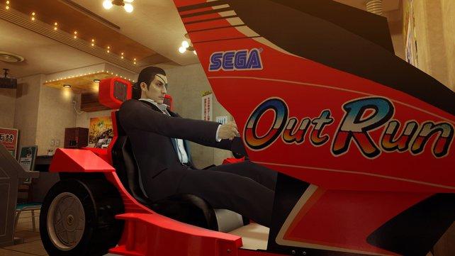Nostalgie! Sega steuert eigene Spielautomaten bei.