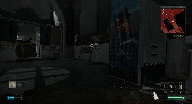 Zwischen euch und einer einfachen Mission steht nur dieser Getränkeautomat.