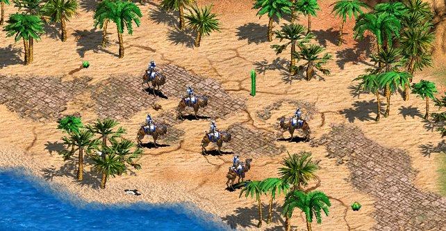 Ein erstes Bild aus der neuen Erweiterung für Age of Empires 2 HD Edition.