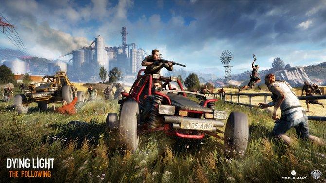 """In der Erweiterung """"The Following"""" könnt ihr euch erstmals auch mit Fahrzeugen durch die Zombie-verseuchte Umgebung bewegen."""