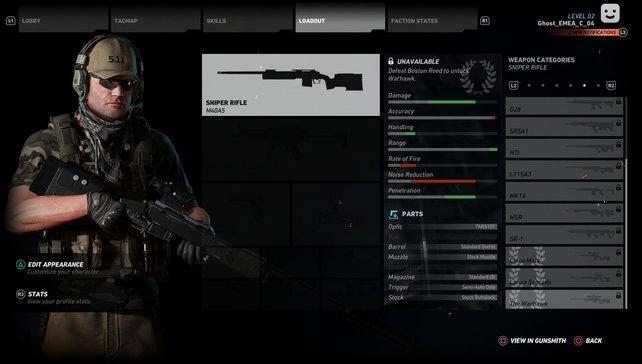Ausrüstung, Waffenkonfiguration, Aussehen: Mit individuellem Helden geht es in die Schlachten.