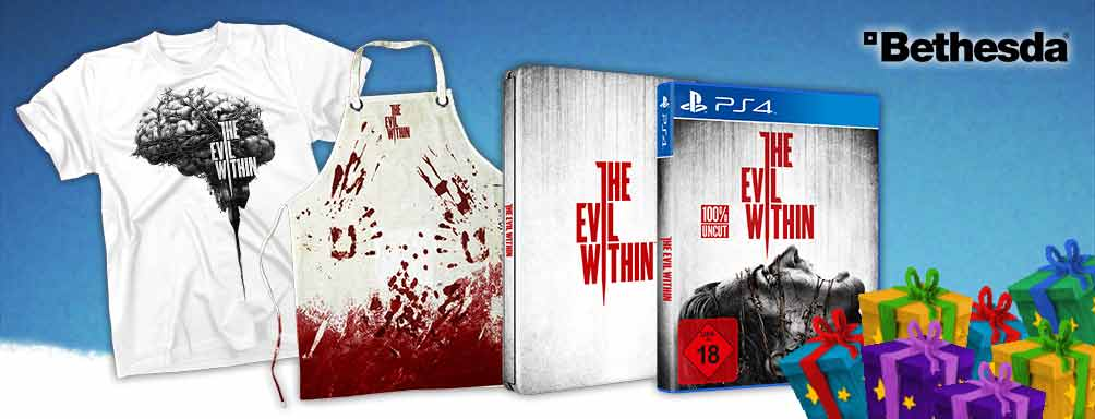 Gewinnt The Evil Within + Fan-Artikel