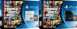 GTA 5: Sony best�tigt Konsolen-Bundle mit wei�er und schwarzer PS4