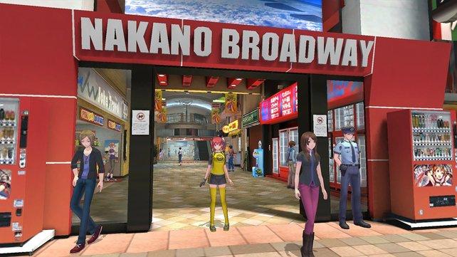 Offline Colosseum: Besucht den Nakano Broadway und begebt euch in den vierten Stock.