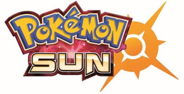 Das ist das Logo zum neuen Spiel Pokémon Sun.