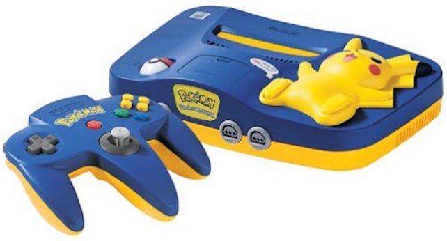 Da die Epoche des N64 genau in die Früh- und Hochphase der Pokémon fällt, lässt eine Pikachu-Edition auch nicht lange auf sich warten.