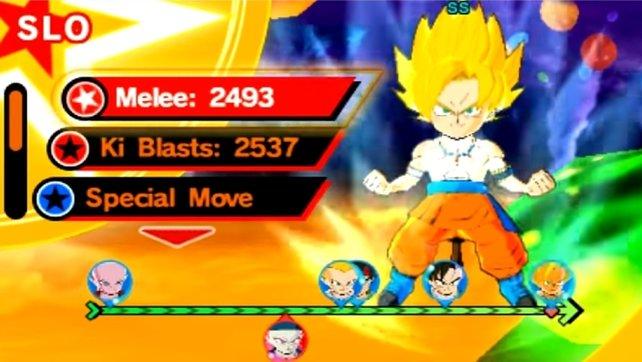 Auch in Dragon Ball Fusions könnt ihr ein mächtiger Super-Saiyajin werden - so geht's.