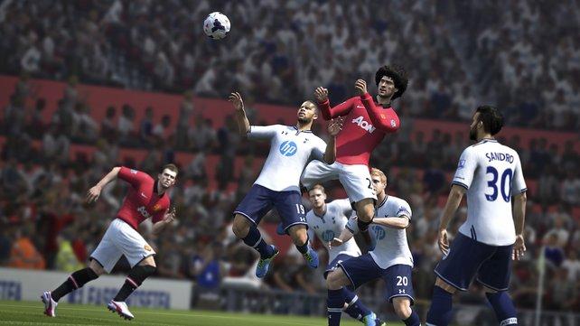 Das Ballgefühl soll in Fifa 14 noch realitätsnäher wirken.