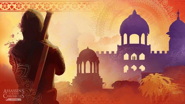 Ein Freudenfest der Farben: Assassin's Creed Chronicles India sieht einfach zauberhaft aus.