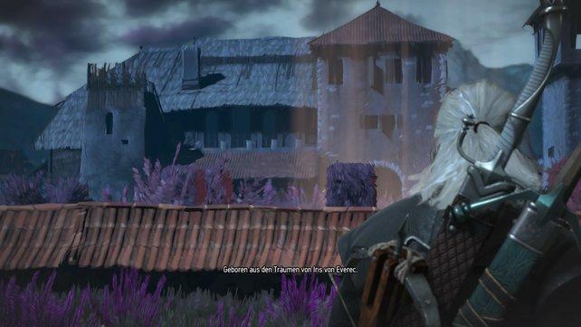 Über die malerische Schönheit muss selbst Geralt stauen.