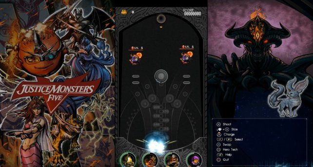 Am Ende jedes Justice Monsters Five Spiels wartet ein Endboss.