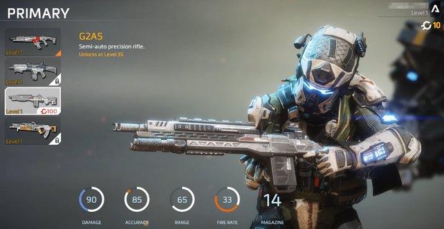 G2A5: Ein starkes Sturmgewehr unter den Waffen in Titanfall 2.