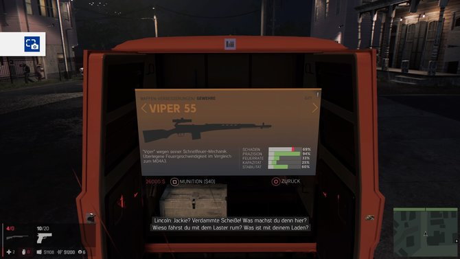 Gewehre: Viper 55 Zurück zum Artikel