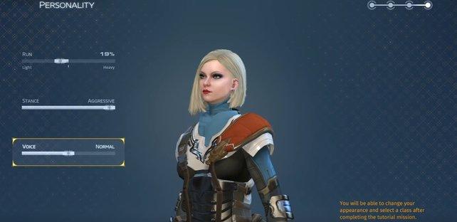 Der Charakter-Editor hat keinen Einfluss auf die verfügbaren Klassen in Skyforge.