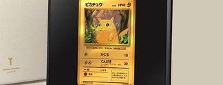 Pok�mon: Nintendo ver�ffentlicht Pikachu-Sammelkarte aus purem Gold - f�r knapp 1.900 Euro