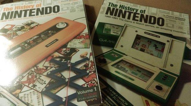 Das Buchprojekt von Florent Gorges ist auf acht Bände angelegt - nur über Nintendos Geschichte!