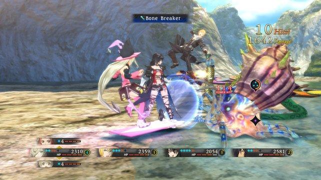 An den Kämpfen haben auch Freunde von Actionspielen ihren Spaß.