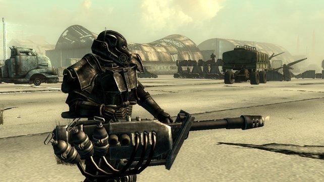 Die Rail-Gun ist eine von drei neuen Waffen und so gefährlich, wie sie aussieht!