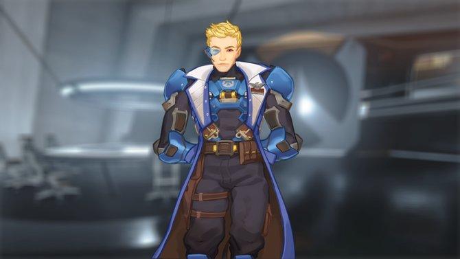 Hier seht ihr den Commander von Loverwatch, also euren direkten Vorgesetzten im Spiel.