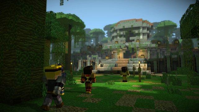 In Episode 5 führt es das Team rund um Jesse unter anderem zu einem geheimnisvollen Tempel.