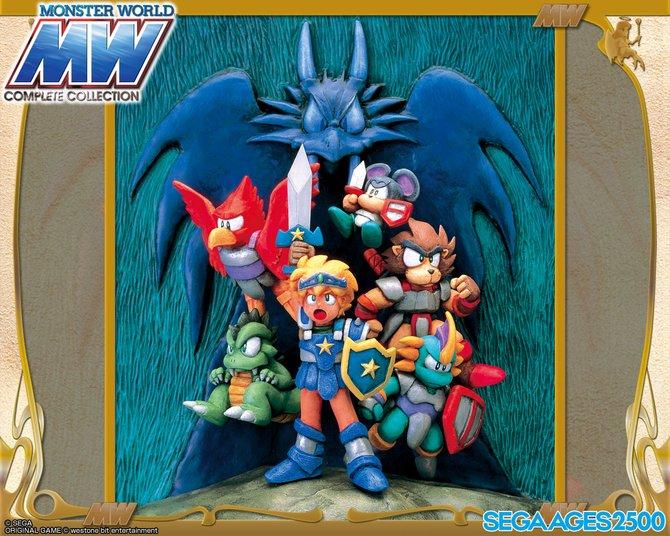 """Als Nummer 29 der """"Sega Ages""""-Reihe ist in Japan die """"Monster World Complete Collection"""" für PlayStation 2 erschienen. Enthalten sind alle sechs Teile und viele Bonus-Grafiken."""