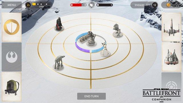 Base Command: Verteidigt eure Basis mit virtuellen Spielkarten.