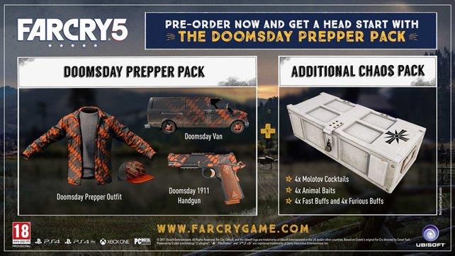 Diese außergewöhnlichen Skins gehören zu den Vorbesteller-Boni aller Editionen von Far Cry 5.