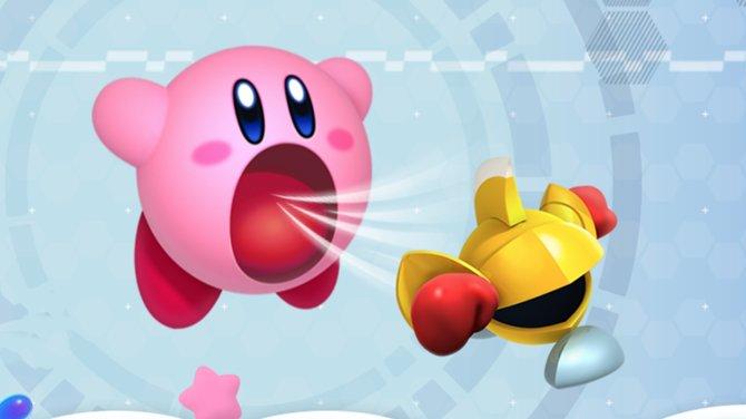 Kirby hat auch in Planet Roboboto ordentlich Saugkraft im Gepäck.